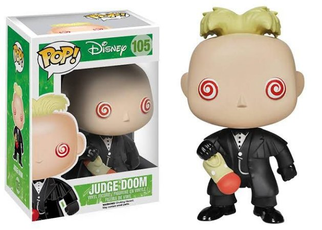 Funko Pop Disney Roger Rabbit - Judge Doom #105