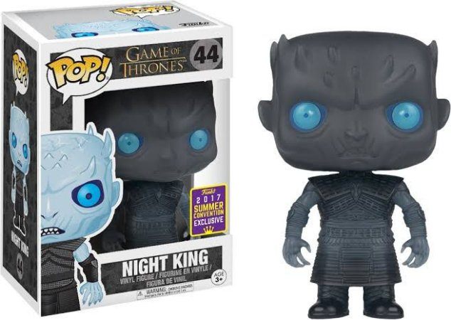 Funko Pop Game Of Thrones Night King Exclusivo SDCC 17 #44