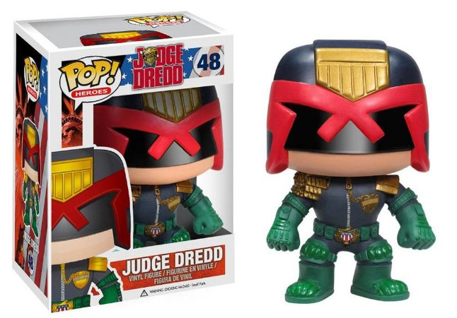Funko Pop Judge Dredd #48
