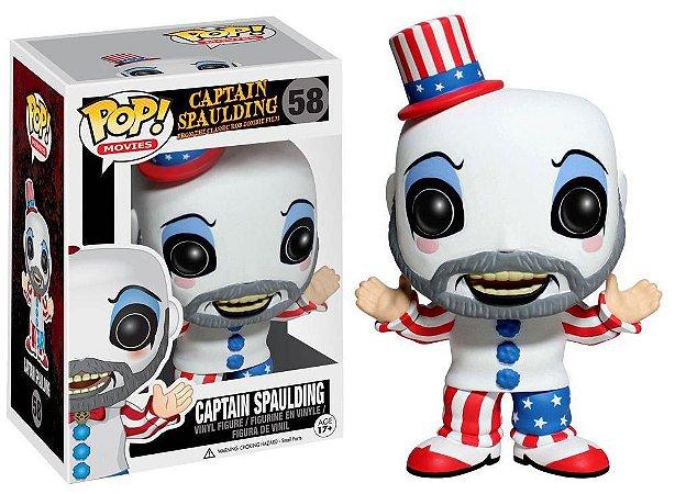 Funko Pop Captain Spaulding #58