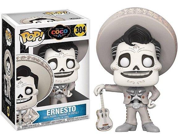 Funko Pop Disney A Vida é uma Festa Coco Ernesto #304
