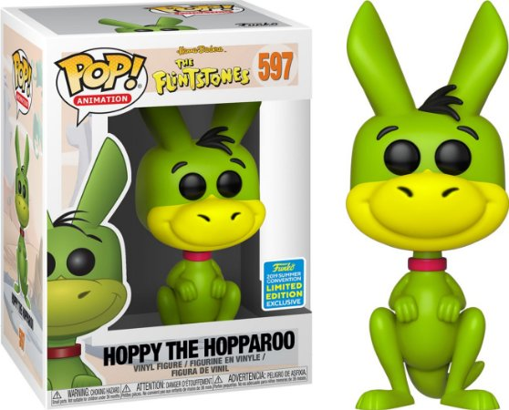 Funko Pop The Flintstones Hoppy The Hopparoo SDCC 19 #597