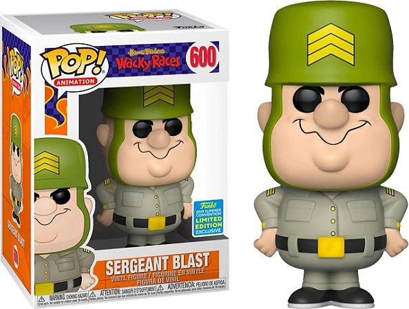 Funko Pop Hanna Barbera Wacky Races Sergeant Blast Exclusivo SDCC 19 #600