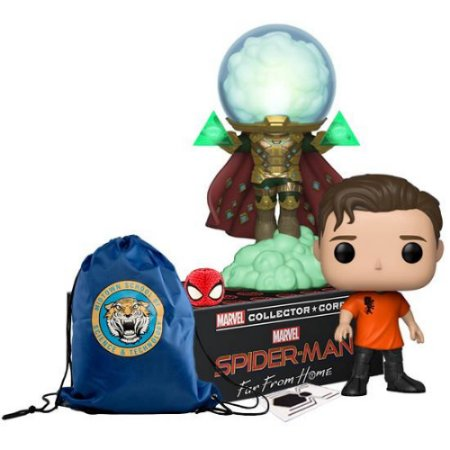 Funko Box Marvel Collector Corps Homem Aranha Spider-Man Far From Home