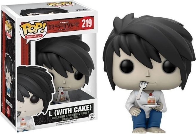 Funko Pop Death Note L With Cake Exclusivo #219