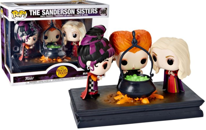 Funko Pop Disney Movie Moments The Sanderson Sisters Hocus Pocus Exclusivo #560