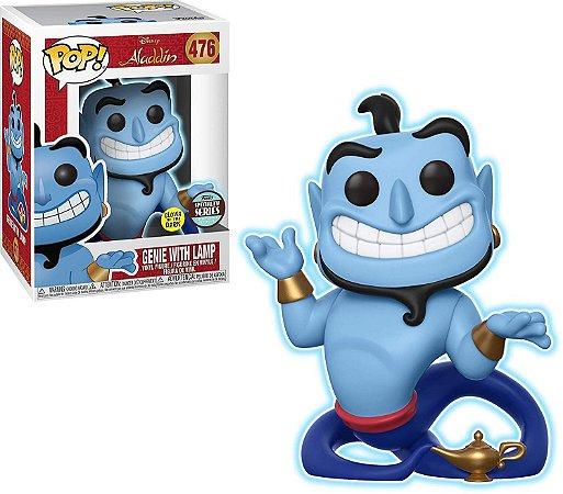 Funko Pop Disney Alladin Genie with Lamp Glow Exclusivo #476