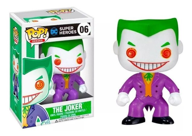 Funko Pop DC Super Heroes The Joker #06