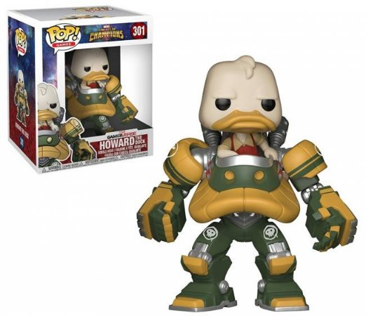 Funko Pop Marvel Contest of Champions Howard The Duck #301