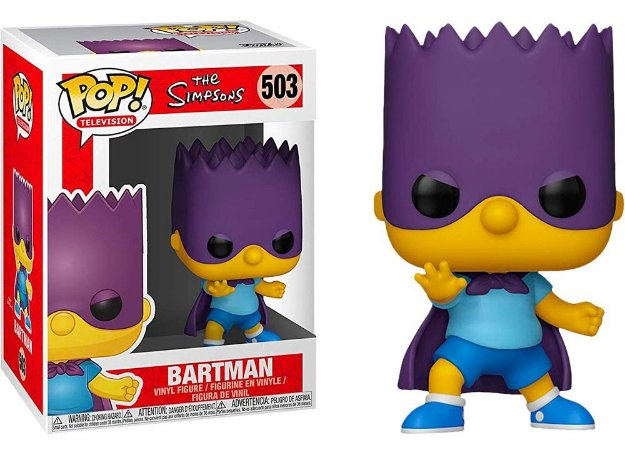 Funko Pop The Simpsons Bartman #503