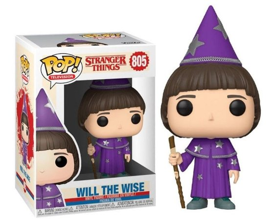 Funko Pop Stranger Things Will The Wise #805