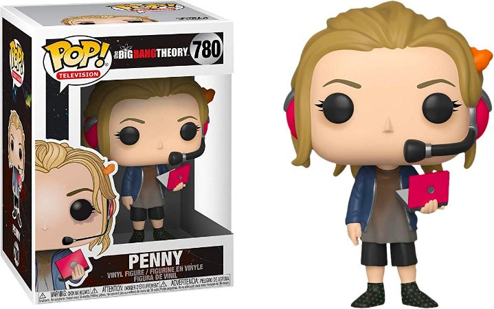 Funko Pop The Big Bang Theory Penny #780