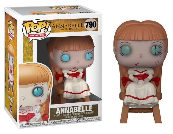 Funko Pop Annabelle Comes Home - Annabelle in Chair #790