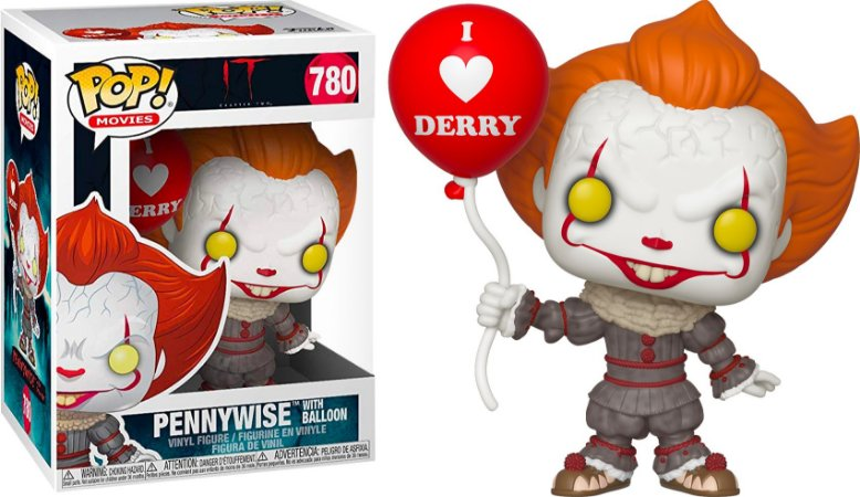 Funko Pop Terror IT 2 Pennywise With Balloon #780