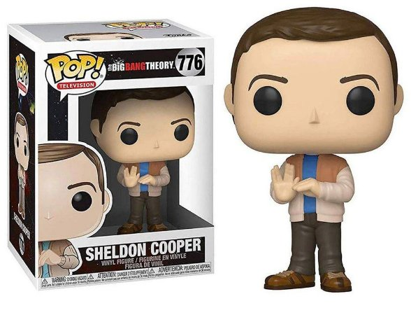 Funko Pop The Big Bang Theory Sheldon Cooper #776