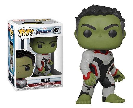Funko Pop Marvel Vingadores Ultimato Avengers Endgame Hulk #451