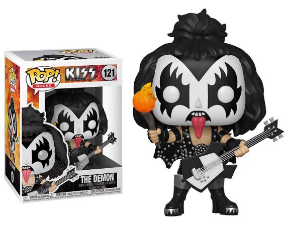 Funko Pop Kiss The Demon #122