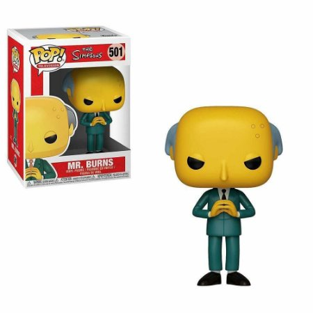 Funko Pop The Simpsons Mr Burns #501