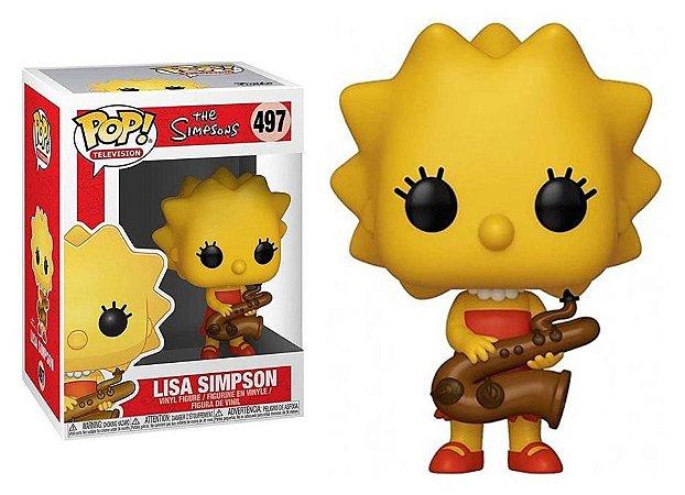 Funko Pop The Simpsons Lisa Simpson #497