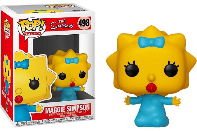 Funko Pop The Simpsons Maggie Simpons #498