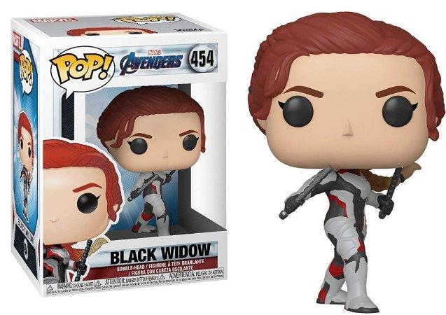 Funko Pop Marvel Vingadores Ultimato Avengers Endgame Black Widow #454