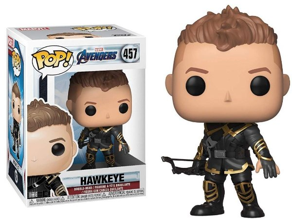 Funko Pop Marvel Vingadores Ultimato Avengers Endgame Hawkeye Gavião Arqueiro #457