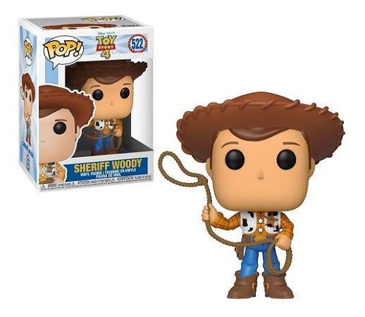 Funko Pop Disney Toy Story 4 Sheriff Woody #522
