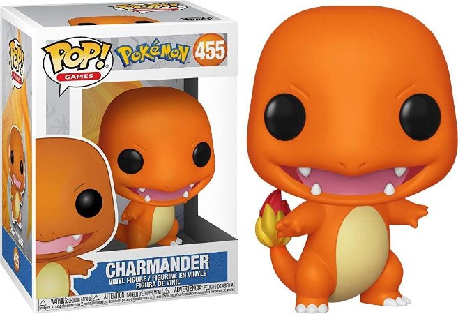 Funko Pop Pokemon Charmander #455
