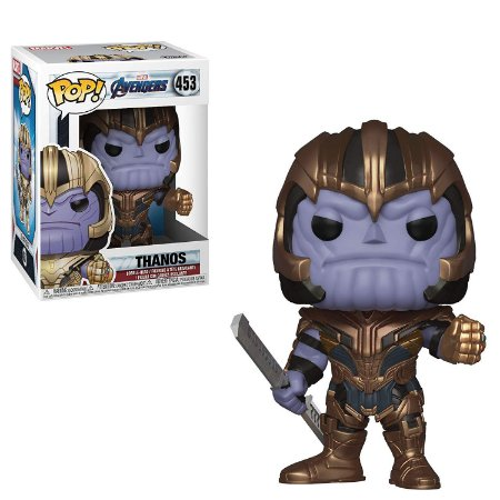 Funko Pop Marvel Vingadores Ultimato Avengers Endgame Thanos #453