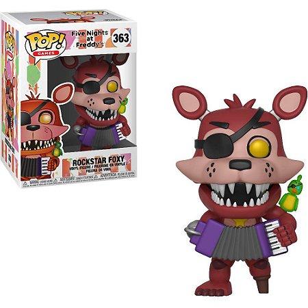Funko Pop Five Nights At Freddys Rockstar Foxy #263