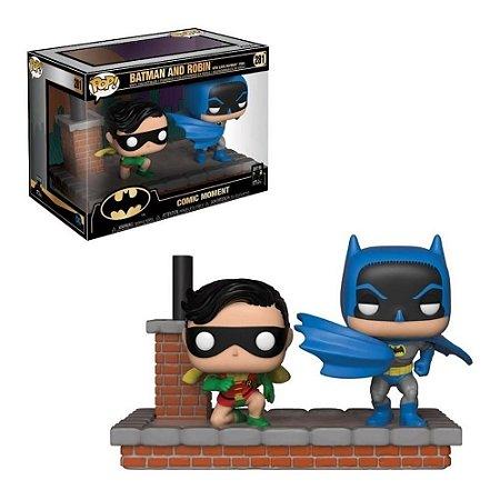 Funko Pop DC Comic Moments Batman And Robin Look 1964 #281