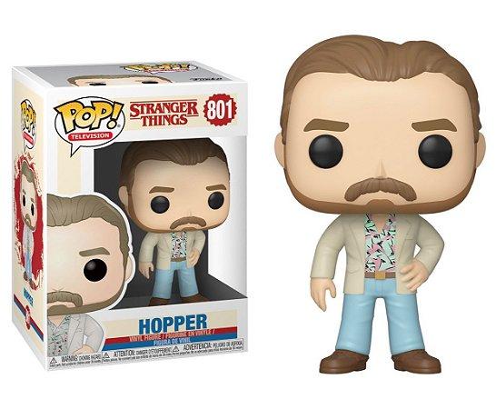 Funko Pop Stranger Things Hooper #801