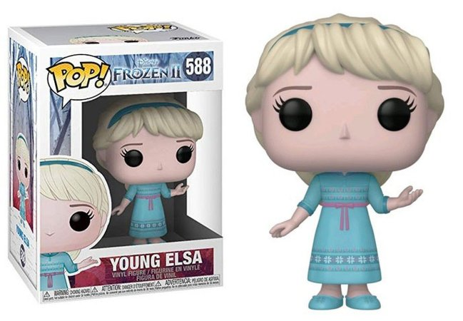 Funko Pop Disney Frozen 2 Young Elsa #588