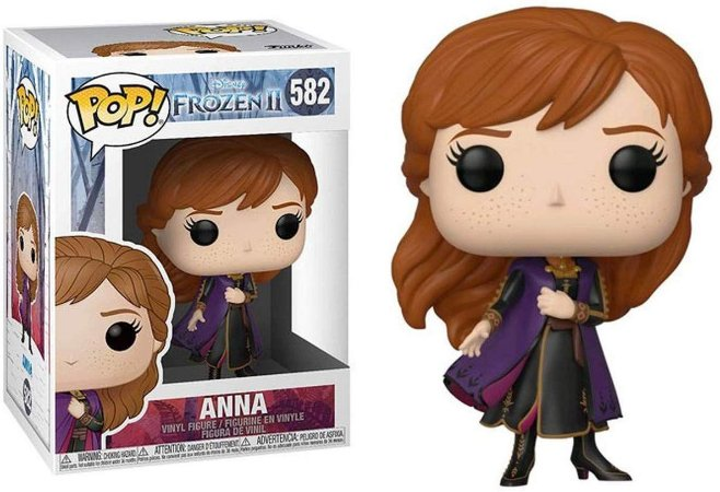 Funko Pop Disney Frozen 2 Anna #582