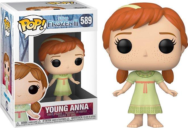 Funko Pop Disney Frozen 2 Young Anna #589