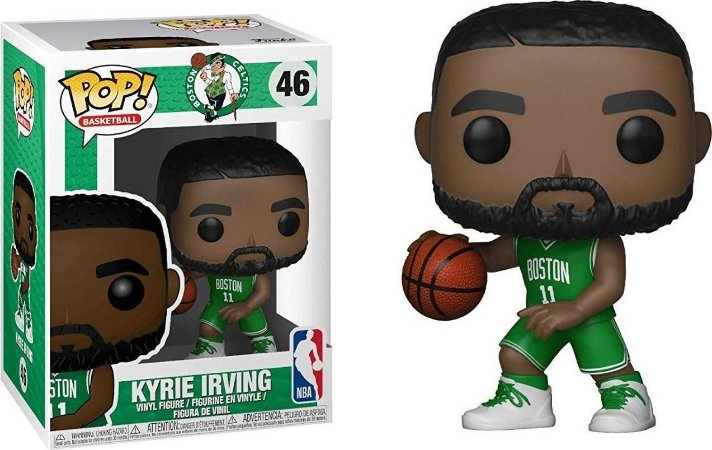 Funko Pop NBA Boston Celtics Kyrie Irving #46
