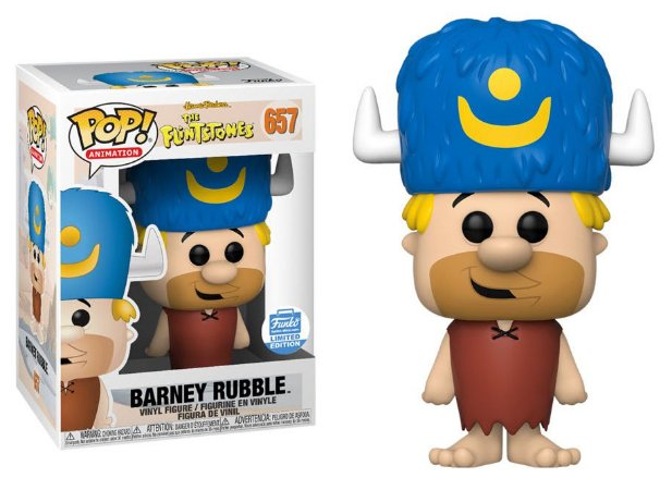 Funko Pop The Flintstones Barney Rubble Exclusivo Funkoshop #657