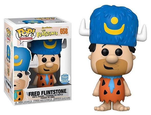 Funko Pop The Flintstones Fred Rubble Exclusivo Funkoshop #658
