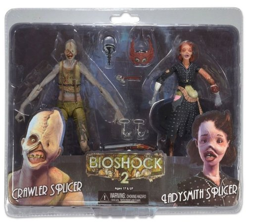 Bioshock 2 Splicers 2 Pack - Neca