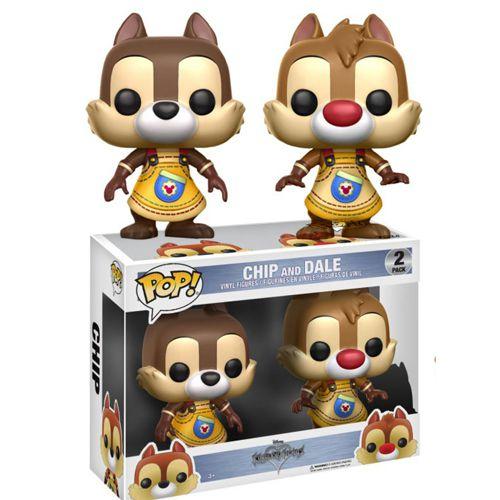 Funko Pop Chip And Dale Tico E Teco Kingdom Hearts 2-Pack
