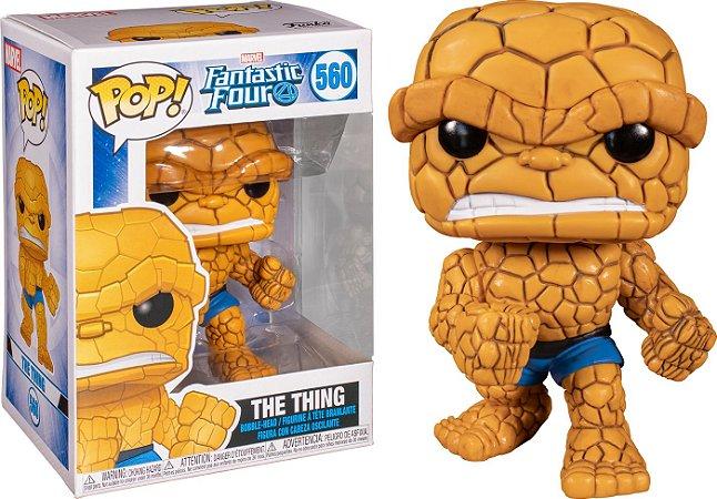Funko Pop Marvel Quarteto Fantastico A Coisa The Thing #560