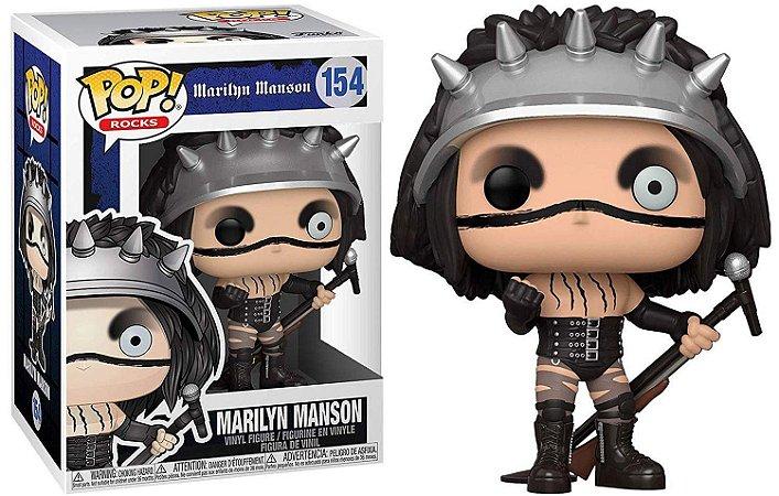 Funko Pop Rocks Marilyn Manson #154