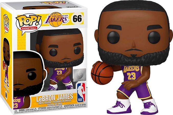 Funko Pop NBA Los Angeles Lakers Lebron James #66