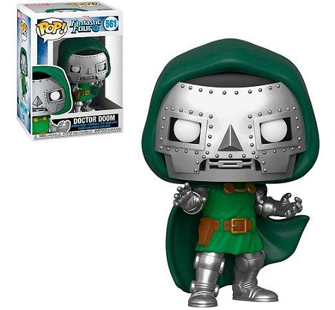 Funko Pop Marvel Quarteto Fantástico Doctor Doom #561