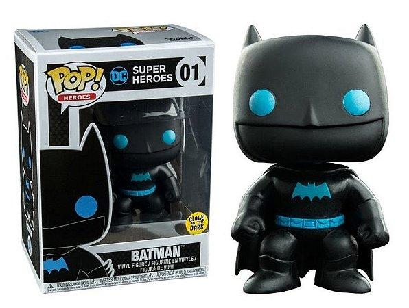 Funko Pop DC Super Heroes Batman Silhouette Glow #01