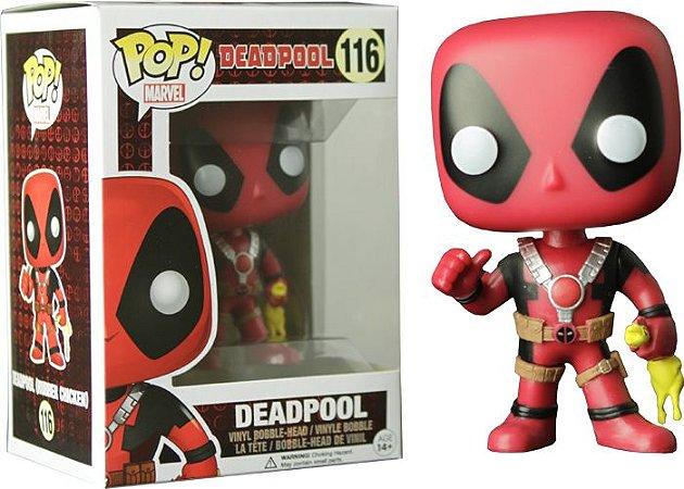 Funko Pop Marvel Deadpool Rubber Chicken #116
