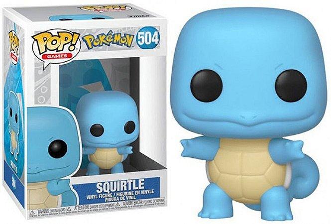 Funko Pop Pokemon Squirtle #504