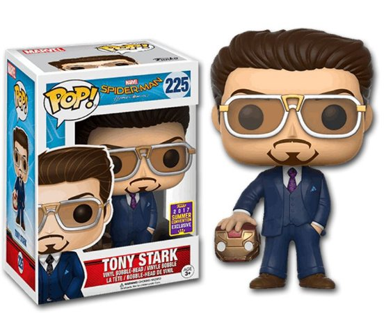 Funko Pop Marvel Spider-man Homecoming Tony Stark SDCC #225
