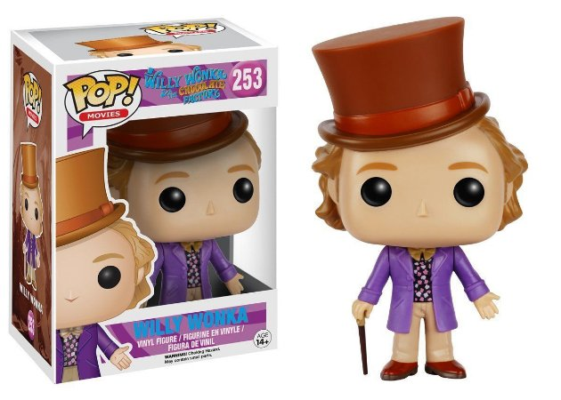 Funko Pop Willy Wonka #253