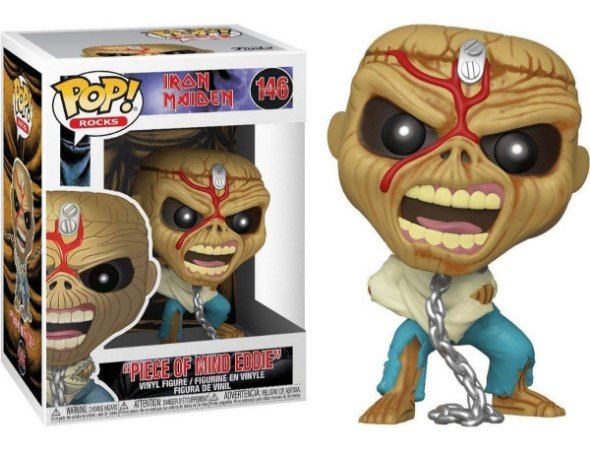 Funko Pop Iron Maiden Eddie Piece of Mind #146